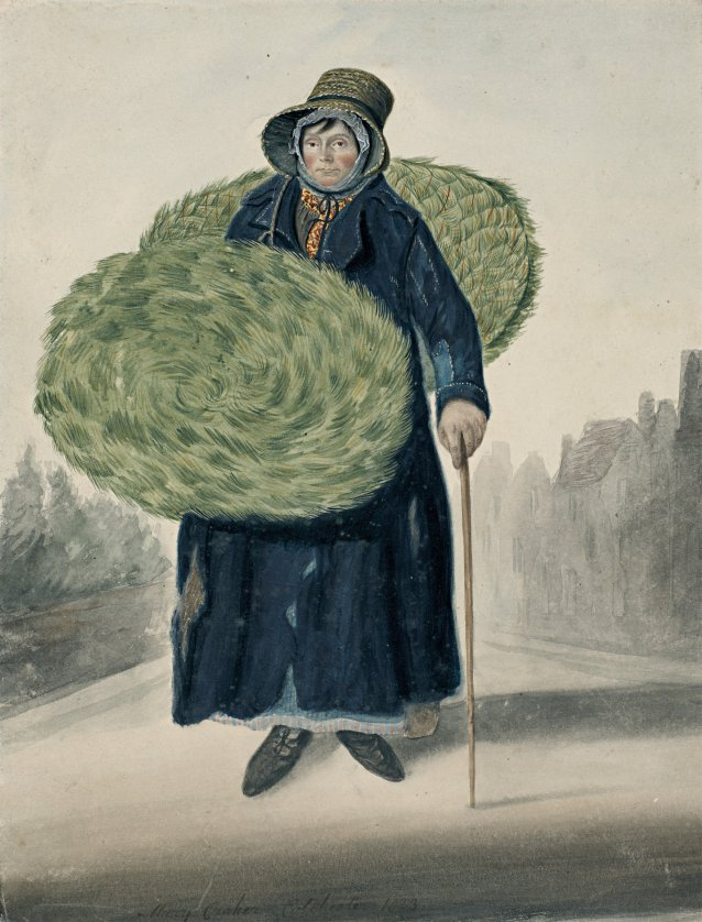 Mary (or Diana) Croker, mat woman, Colchester, 1823