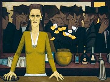 The Bar, 1954 by John Brack