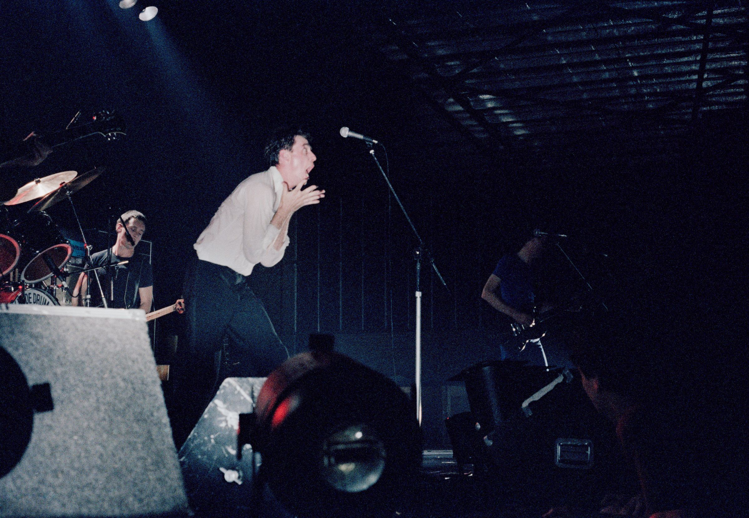 The Angels performing,  Canberra Showgrounds, 29 November 1979 'pling
