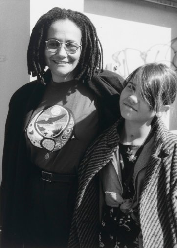 Dr Roberta Sykes and Naomi, 1994 by Juno Gemes