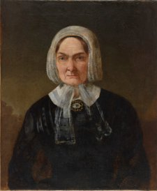Portrait of Mrs Fairfax, n.d. an unknown artist