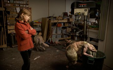 Workshop, 7.00 pm (from 'The Fitzroy Series'), 2011 by Patricia Piccinini