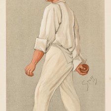 """Sammy"" Samuel Wood (Image plate from Vanity Fair), 1892 Henry Seppings-Wright"