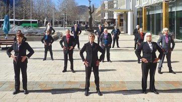 Imperium, Civic Square 2020 Gold Dance performance