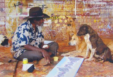 Paddy's lunch: Paddy Stewart at Yuendumu, 2003 Francis Reiss