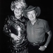 Slim Dusty and Dame Edna Everage, Carlton Hill Station, WA, 10 July 1993 John Elliott