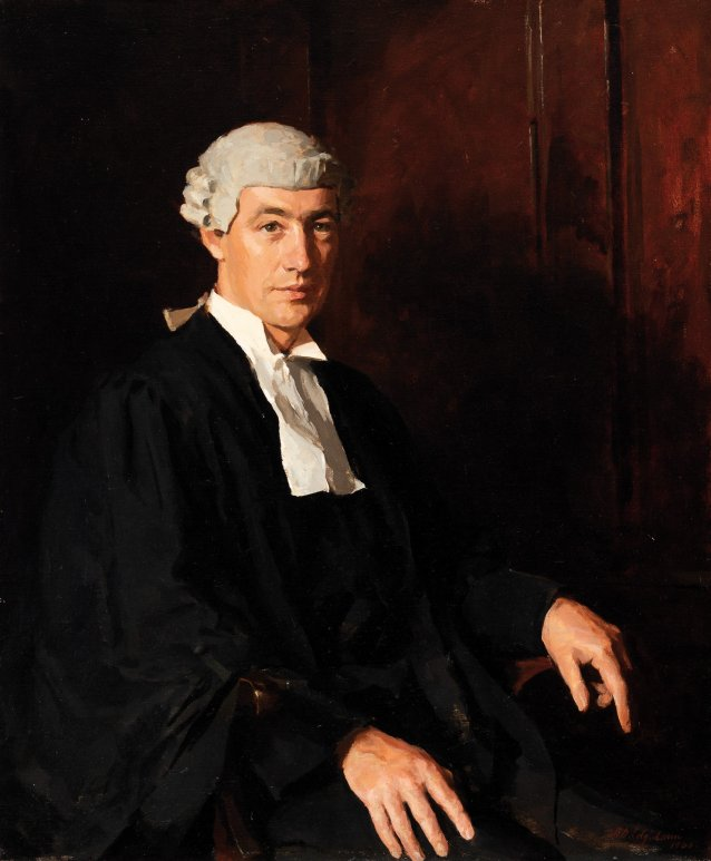 The Right Honourable Sir Douglas Menzies KBE, 1940 by Archibald Colquhoun