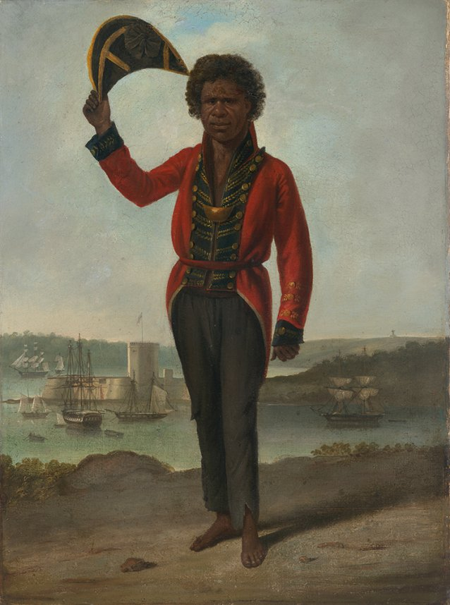 Portrait of Bungaree, a native of New South Wales c. 1826 by Augustus Earle