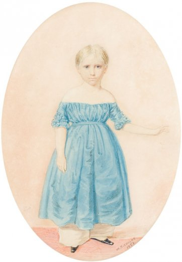 Alice Want, 1853 by William Nicholas