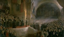 Opening of the First Parliament of the Commonwealth of Australia by H.R.H. The Duke of Cornwall and York, May 9, 1901, 1903 by Tom Roberts