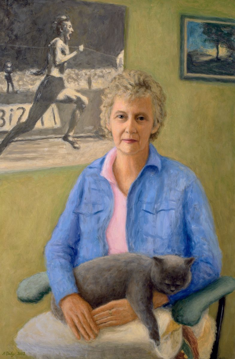 Betty Cuthbert National Portrait Gallery