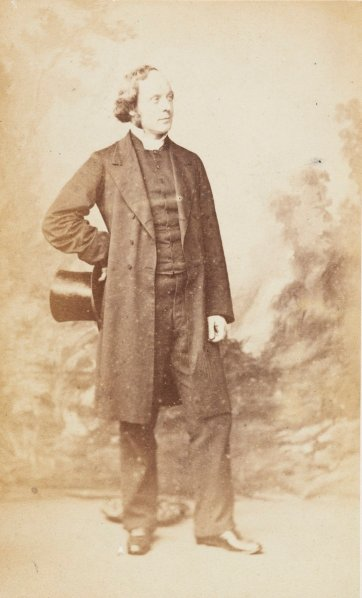 Dr Alfred Barry, c.1870 Sarony & Co.