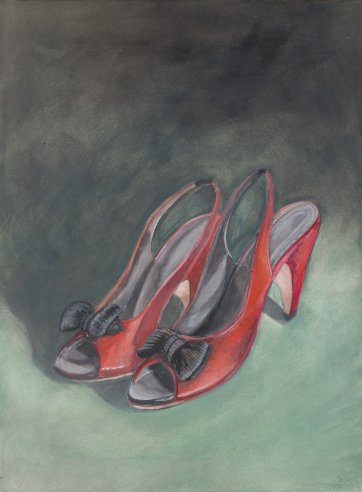 Dancing shoes, 2013 by Robyn Sweaney