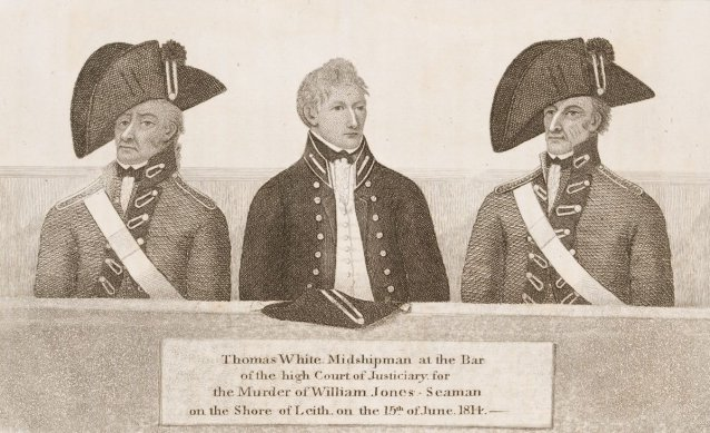 Thomas White, midshipman