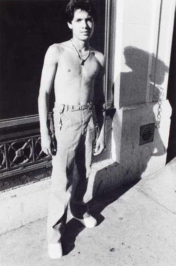 Untitled (42nd Street Series), 1979–80 by Larry Clark