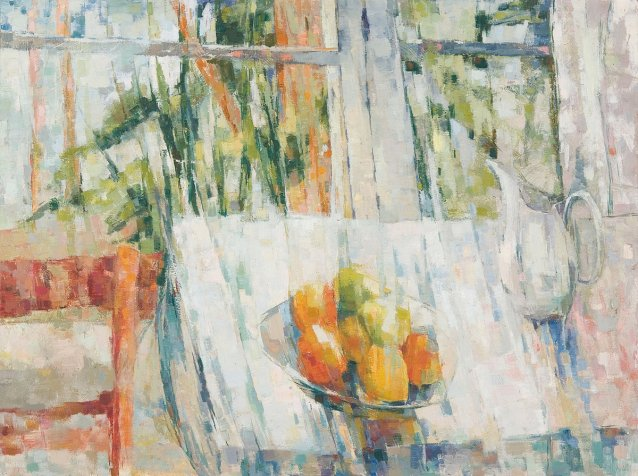 Still life at window, 1963 by Jean Appleton