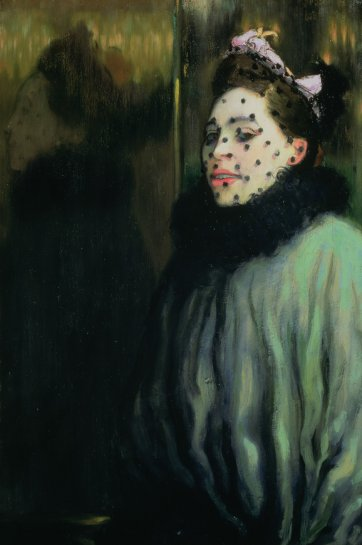 Woman in a veil, 1891 by Louis Anquetin