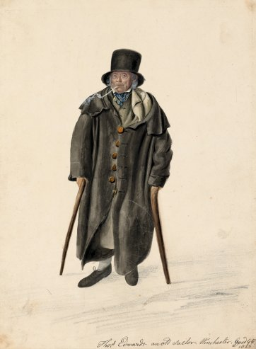 Thomas Edwards, Winchester,1823 by John Dempsey