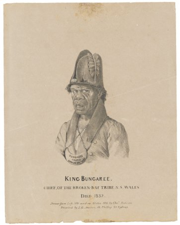 King Bungaree, chief of the