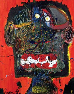 Splatter Me, 2006 by Luke Becarevic