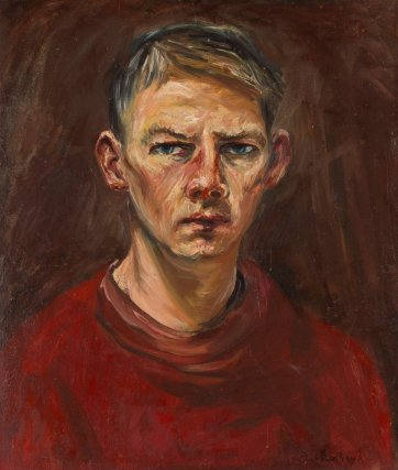 Self portrait, 1945-46 by Arthur Boyd