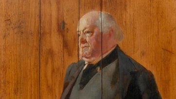 Portrait of George Selth Coppin, c. 1895-99 by Tom Roberts