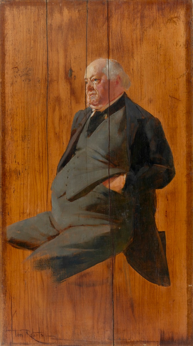 Portrait of George Selth Coppin, c. 1895-99 Tom Roberts