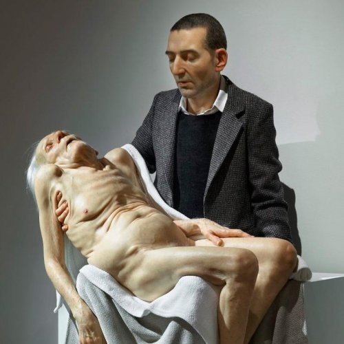 Still Life (Pieta), 2007 by Sam Jinks