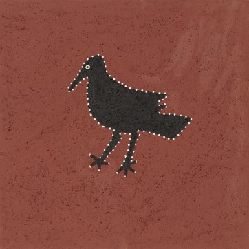 Nangari (crow), 2018 by Shirley Purdie