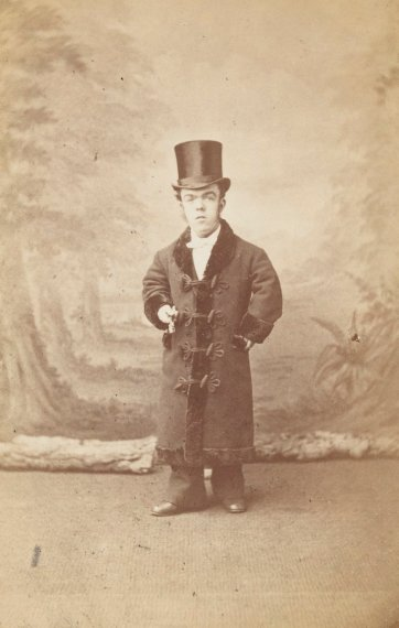 The Australian Tom Thumb (John David Armstrong), c.1880 by J D. Cooper