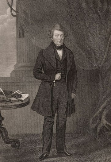 John Frost, 1839 by an unknown artist, W Read