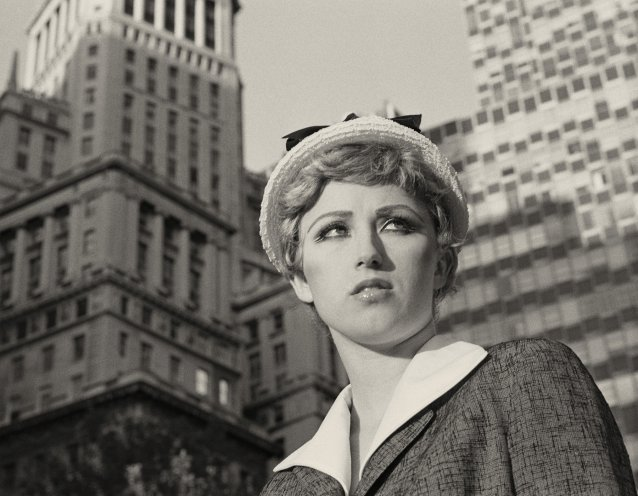 Untitled film still #21, 1978 by Cindy Sherman