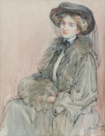 Lydia Mrs Russell of Chelsea c 1910