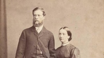 William Robertson and Martha Mary Robertson, 1863 William Edward Kilburn