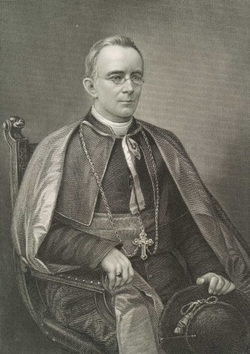Patrick Moran, Bishop of Sydney, c.1886 H.B. Hall's Sons, Picturesque Atlas Publishing Co after William Macleod