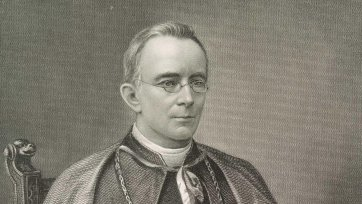 Patrick Moran, Bishop of Sydney, c. 1886 H.B. Hall's Sons, Picturesque Atlas Publishing Co after William Macleod