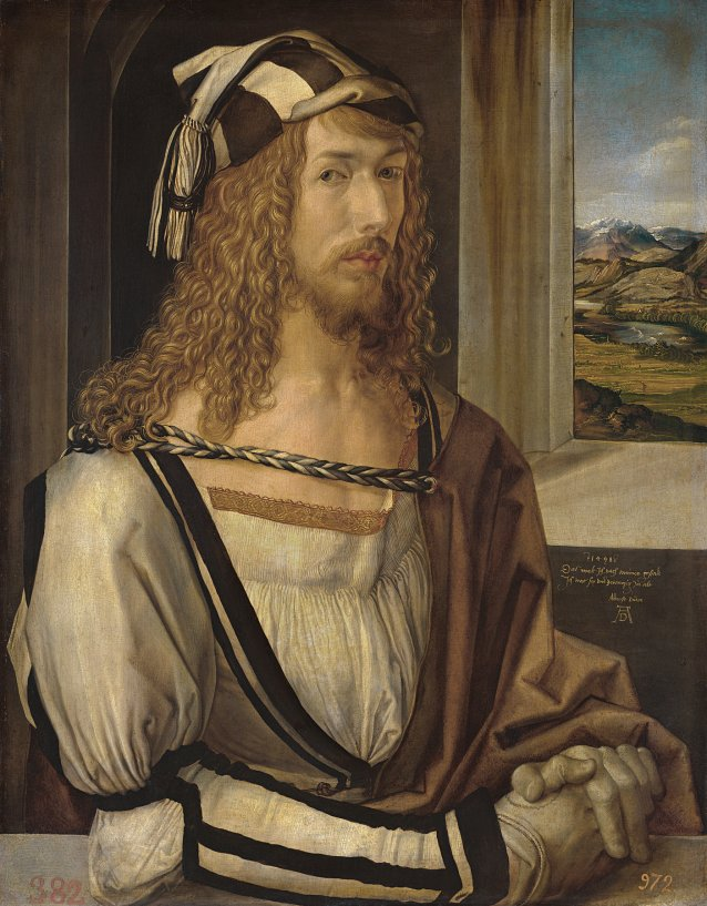 Self-portrait, 1498 by Albrecht Dürer