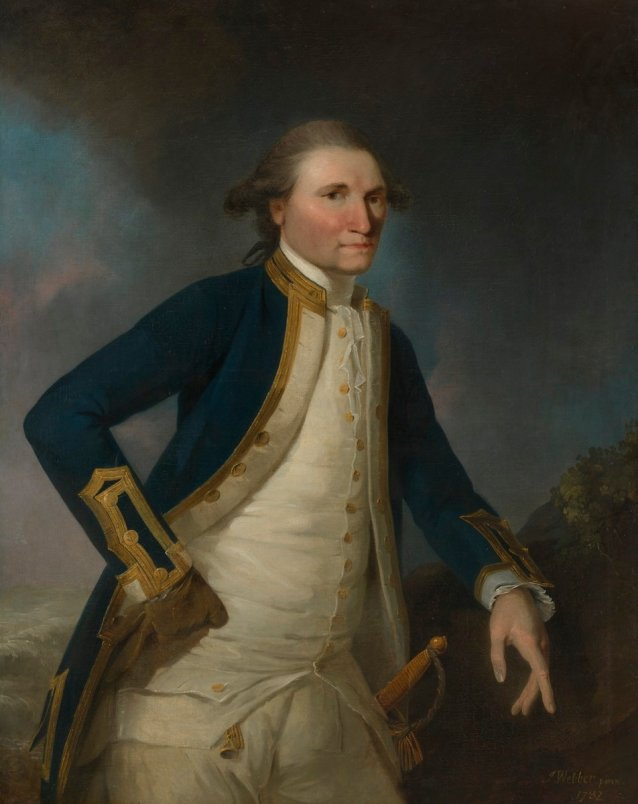 Portrait of Captain James Cook RN, 1782 by John Webber