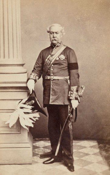 Sir Charles Darling, c. 1863 by Batchelder & O'Neill