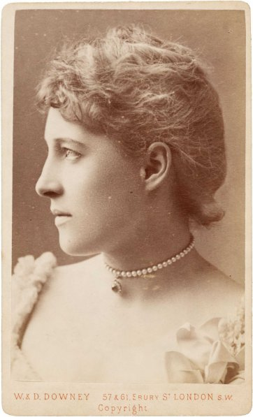 Lillie Langtry, c. 1885 W & D Downey