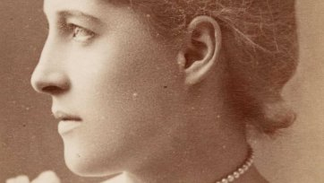 Lillie Langtry, c.1885 by W & D Downey
