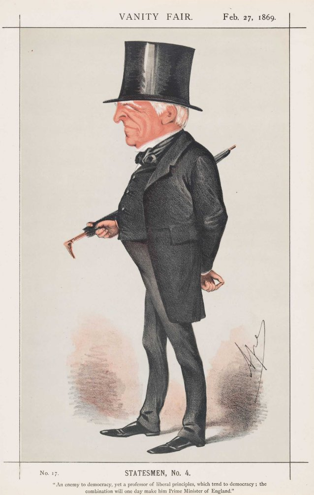 Viscount Robert Lowe (Image plate from Vanity Fair Magazine)