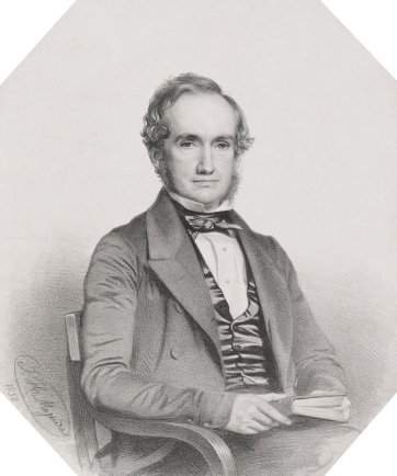 William Henry Harvey, c.1850 by Thomas Herbert Maguire