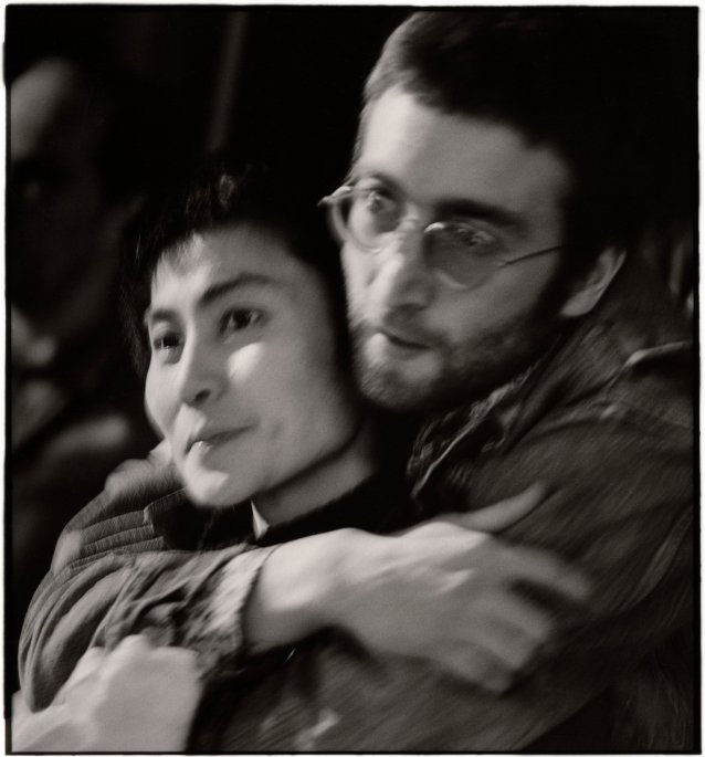 Yoko Ono and John Lennon, early 1970s