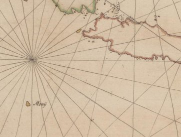 Chart of the Malay Archipelago and the Dutch discoveries in Australia (detail), 1618-1628 Hessel Gerritsz