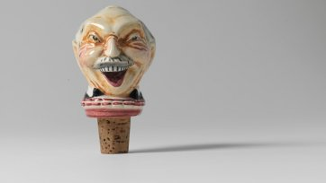 Billy Hughes bottle stopper, 1911-21 Mashman Bros. Ltd.