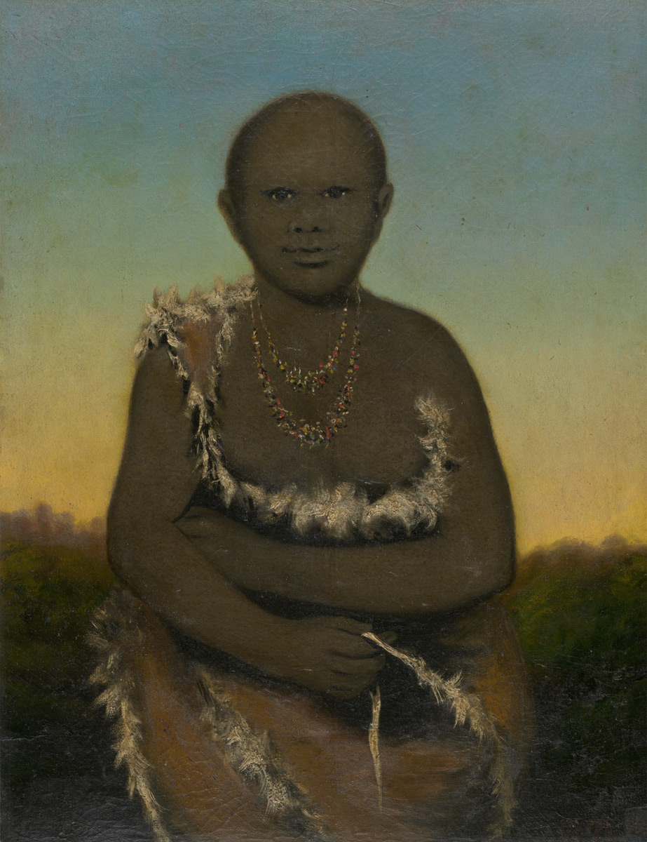 Portrait of Truganini, daughter of the Chief of Bruny Island, Van Diemens Land, c. 1835