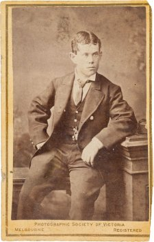 Thomas Pearce, c. 1878 The Photographic Society of Victoria, Melbourne