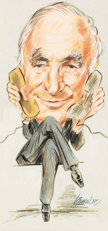 Sir Eric Neal, Boral, Westpac by Joe Greenberg