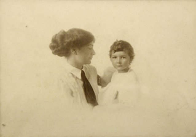 Ethel Anderson and her daughter, Bethia